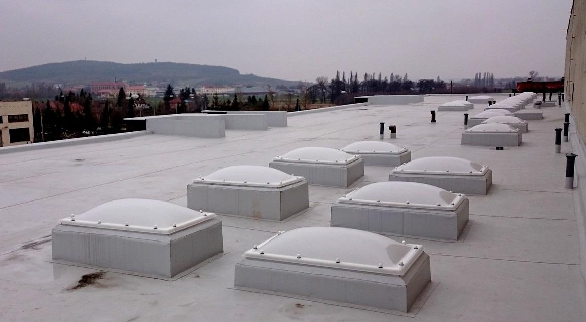 Šanda kovovýroba Kutná Hora, střechy a světlíky (2)